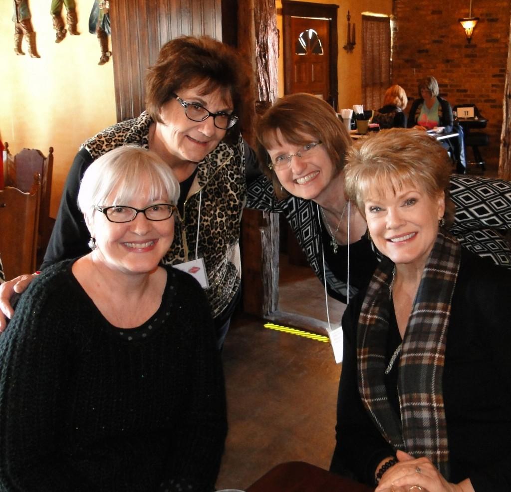 Andrea, Me, Judy Christie, Gloria Loring