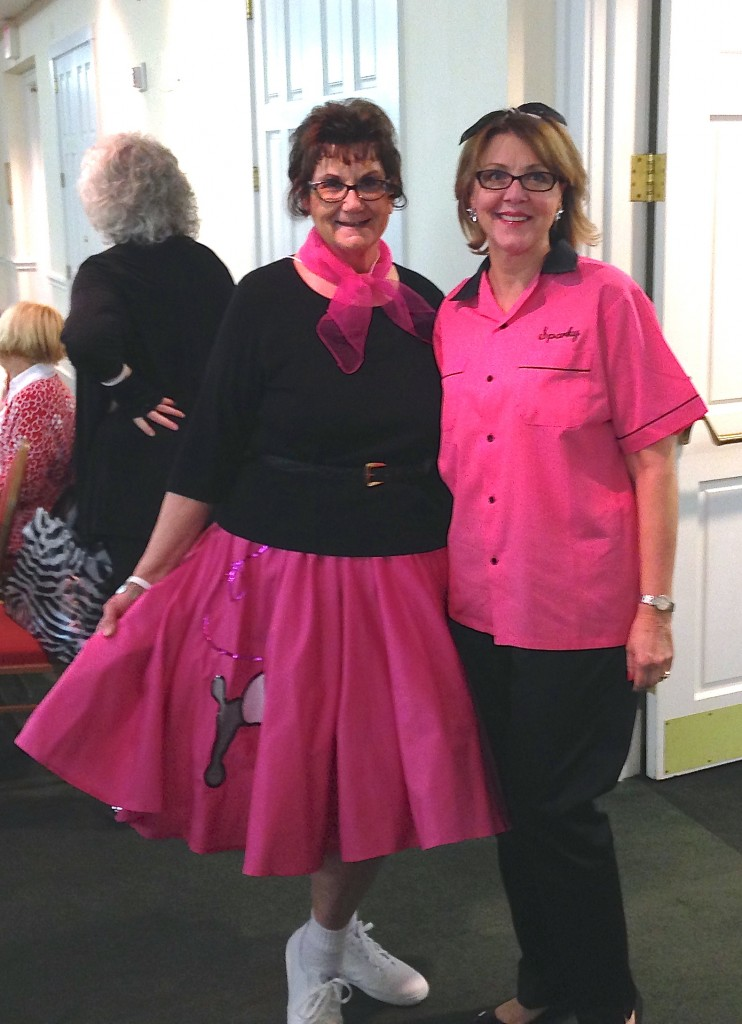 Fifties night with Susan Crandall, author of Whistling Through the Graveyard