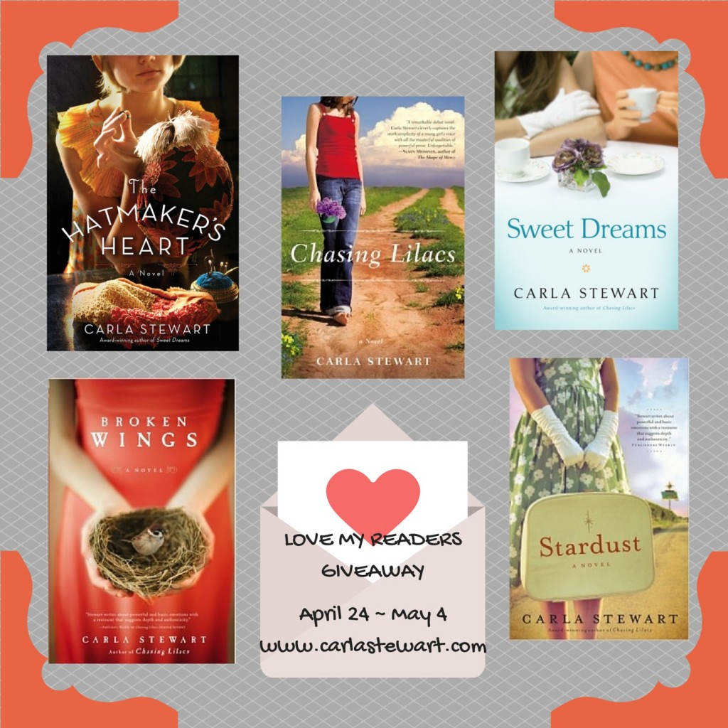 LOVE MY READERSGIVEAWAY