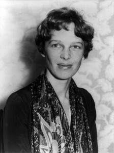 Amelia Earhart - Photo courtesy of Wiki Commons