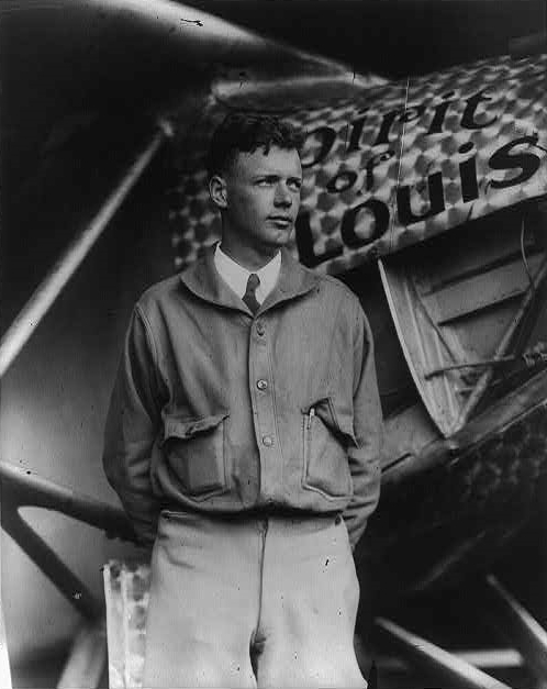Charles Lindbergh, courtesy of Wiki Commons